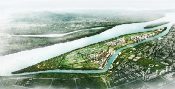 Nanjing Singapore-China Eco Hi-Tech Island, China