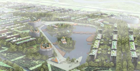 Shanghai Chongming UK-China smart eco island, China