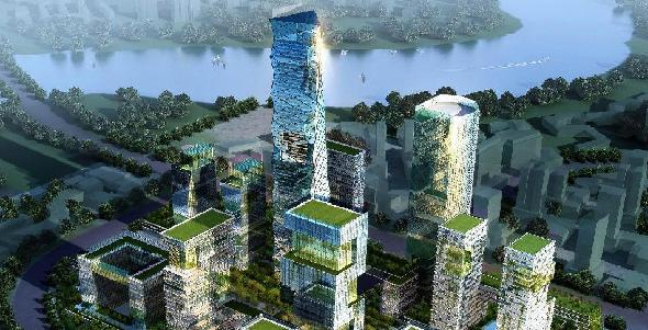 Tianjin Singapore-China Smart Eco district, China
