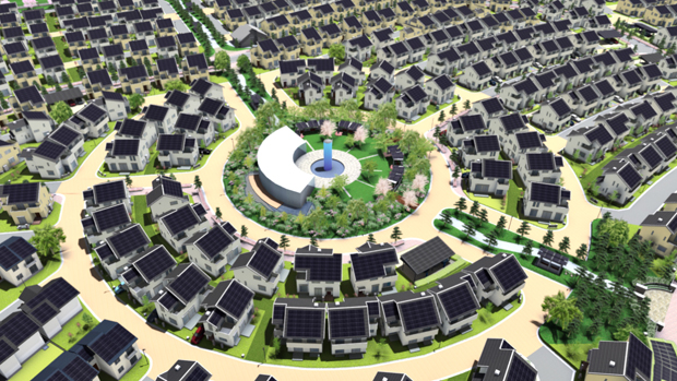 Fujisawa Panasonic Sustainable Smart Town, Japan