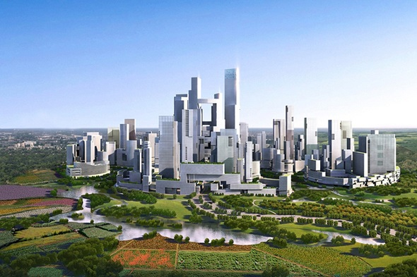 Chengdu Smart Green City, China