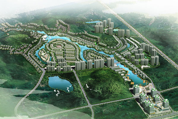 Changsha Fountain Valley Eco District, China