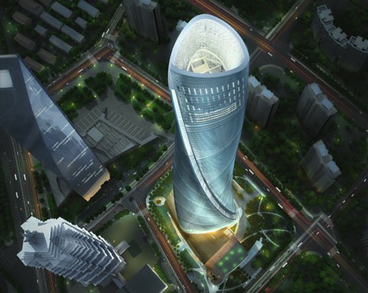 Shanghai Tower, very high Smart Green Skycraper, China
