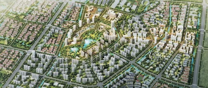 Kunshan New Town Qiandeng Sustainable Eco-park, China