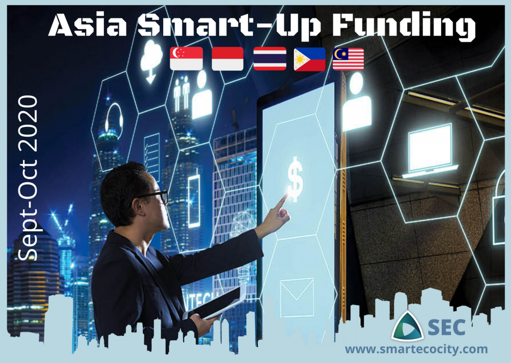 South East Asia Smart-up funding, Sept 2020